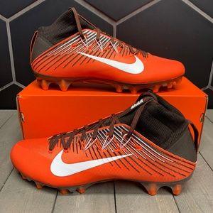 Nike Vapor Untouchable 2 Orange Brown Foot Cleats